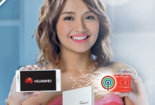 Kathryn Bernardo: Huawei P7 and ABS-CBN Mobile