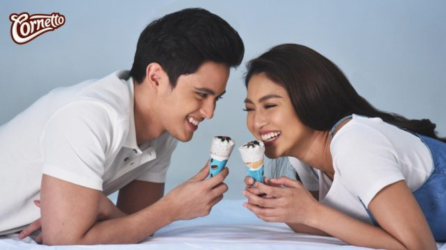 James Reid and Nadine Lustre for Cornetto