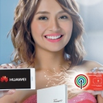 Kathryn Bernardo smiles for Huawei P7 and ABS-CBN Mobile