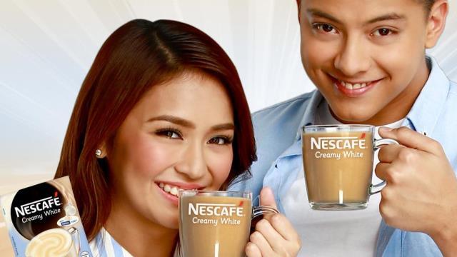 Daniel Padilla and Kathryn Bernardo for Nescafe Creamy White
